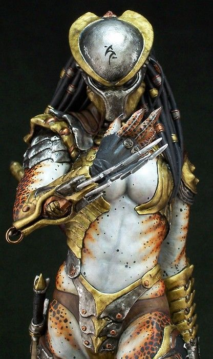 Female Predator Model Is So Good It S Confused For Cosplay