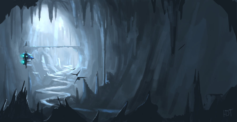 Lanscape___The_Cave_by_highdarktemplar
