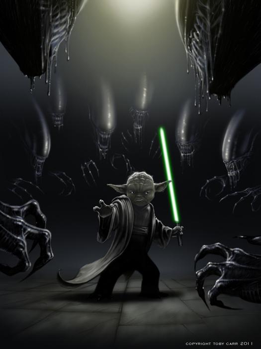 aliens_vs_yoda_by_tobycarr-d3ksmqr