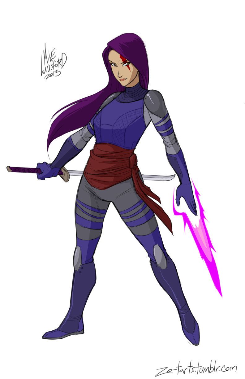 Fully Dressed Psylocke