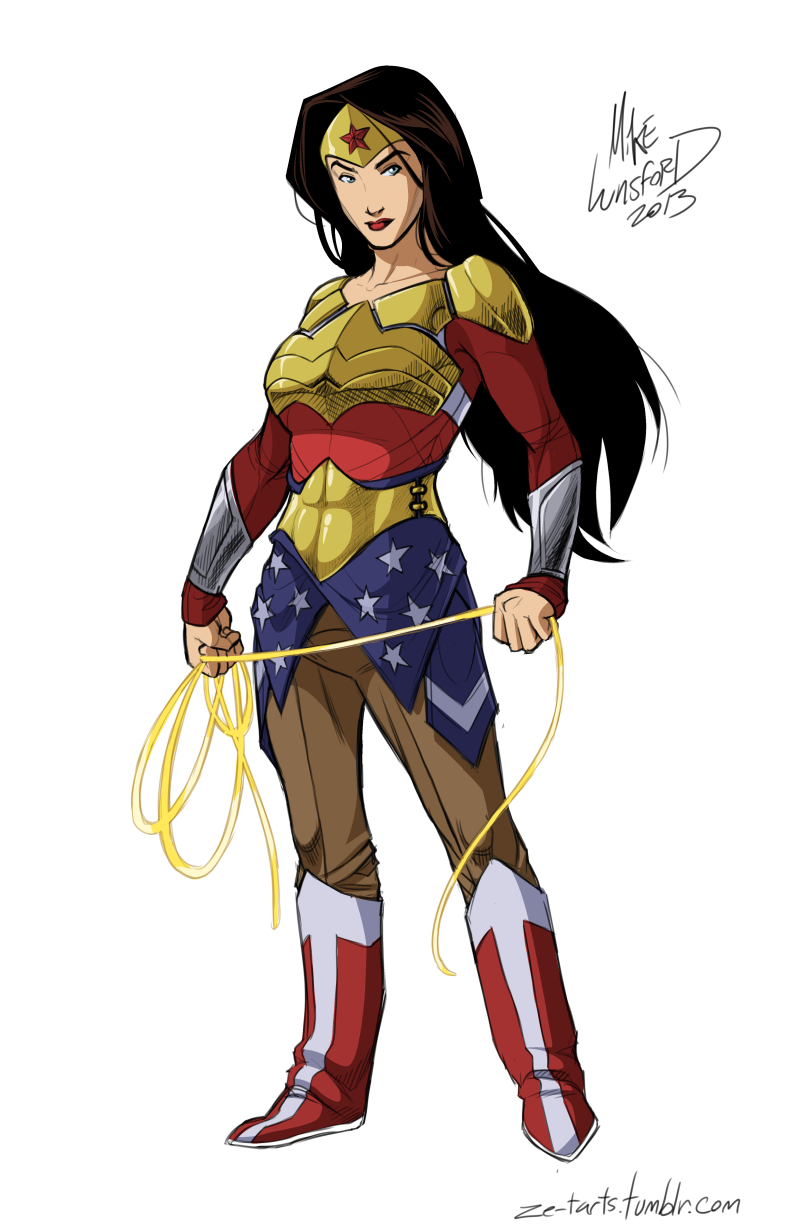 Fully Dressed Wonder Woman
