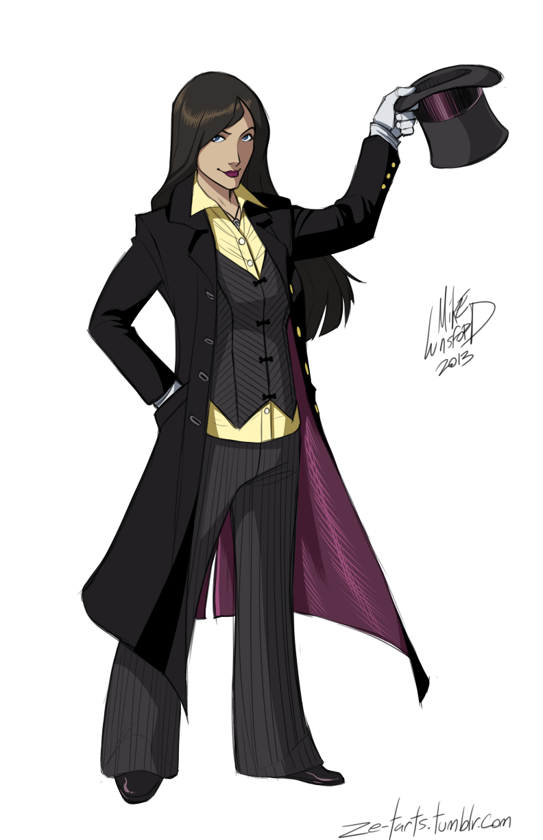 Fully Dressed Zatanna