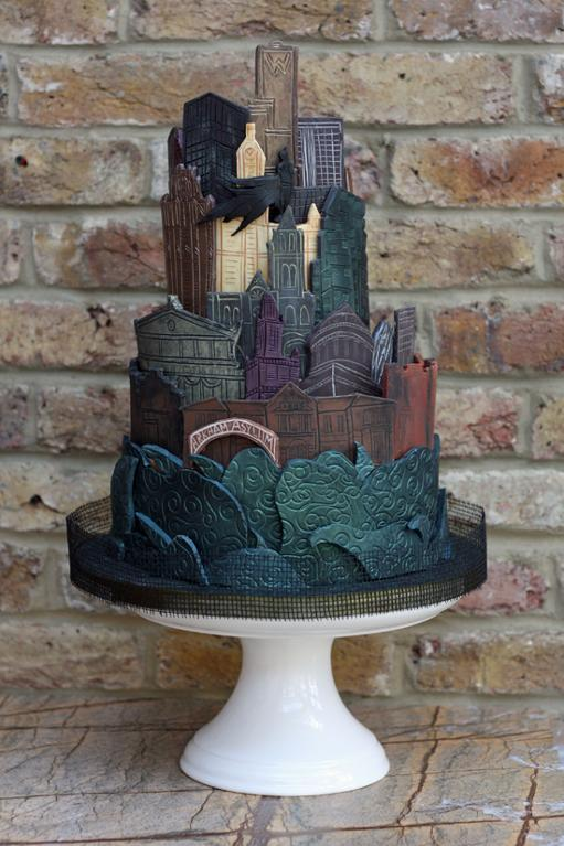Gothan City Cake