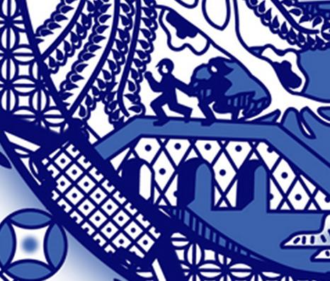 Tardis Designer Wallpaper Decal Frabic And Gift Wrap