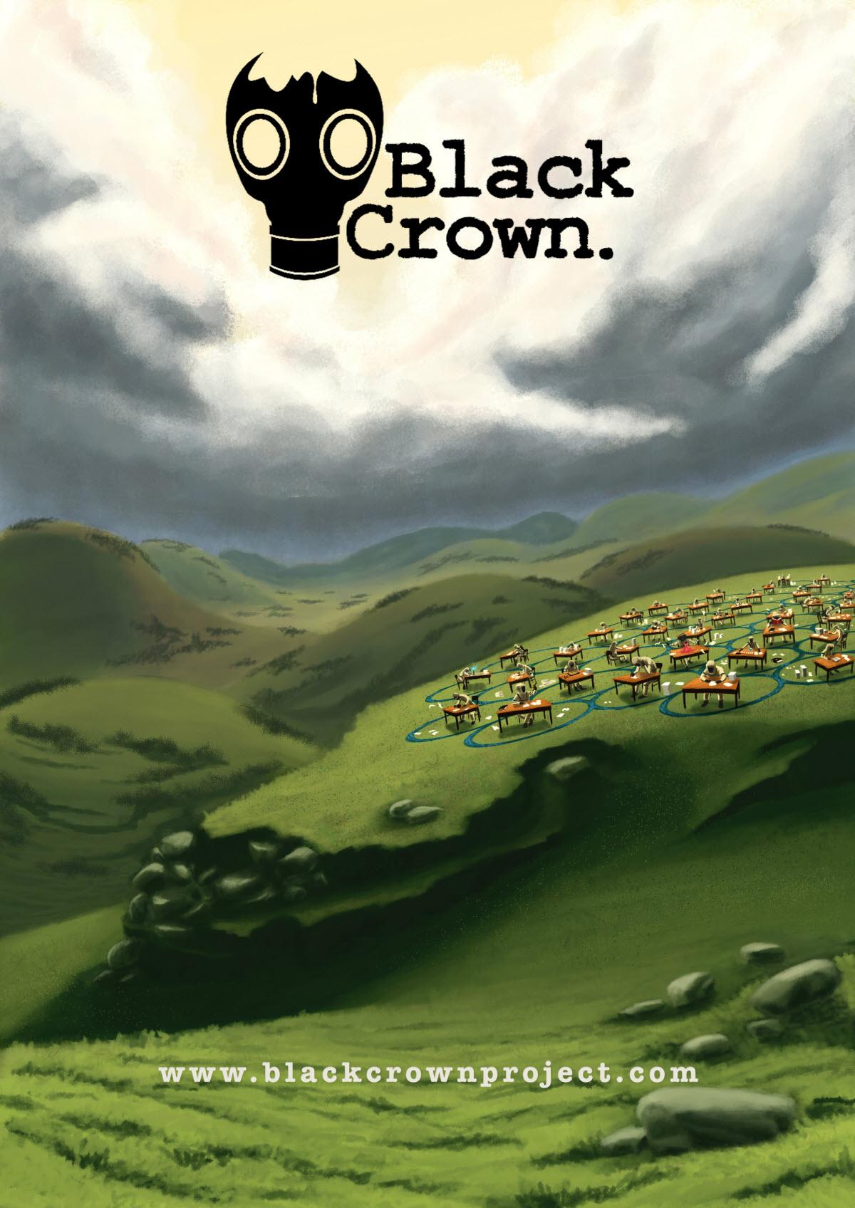 Black Crown Poster sm