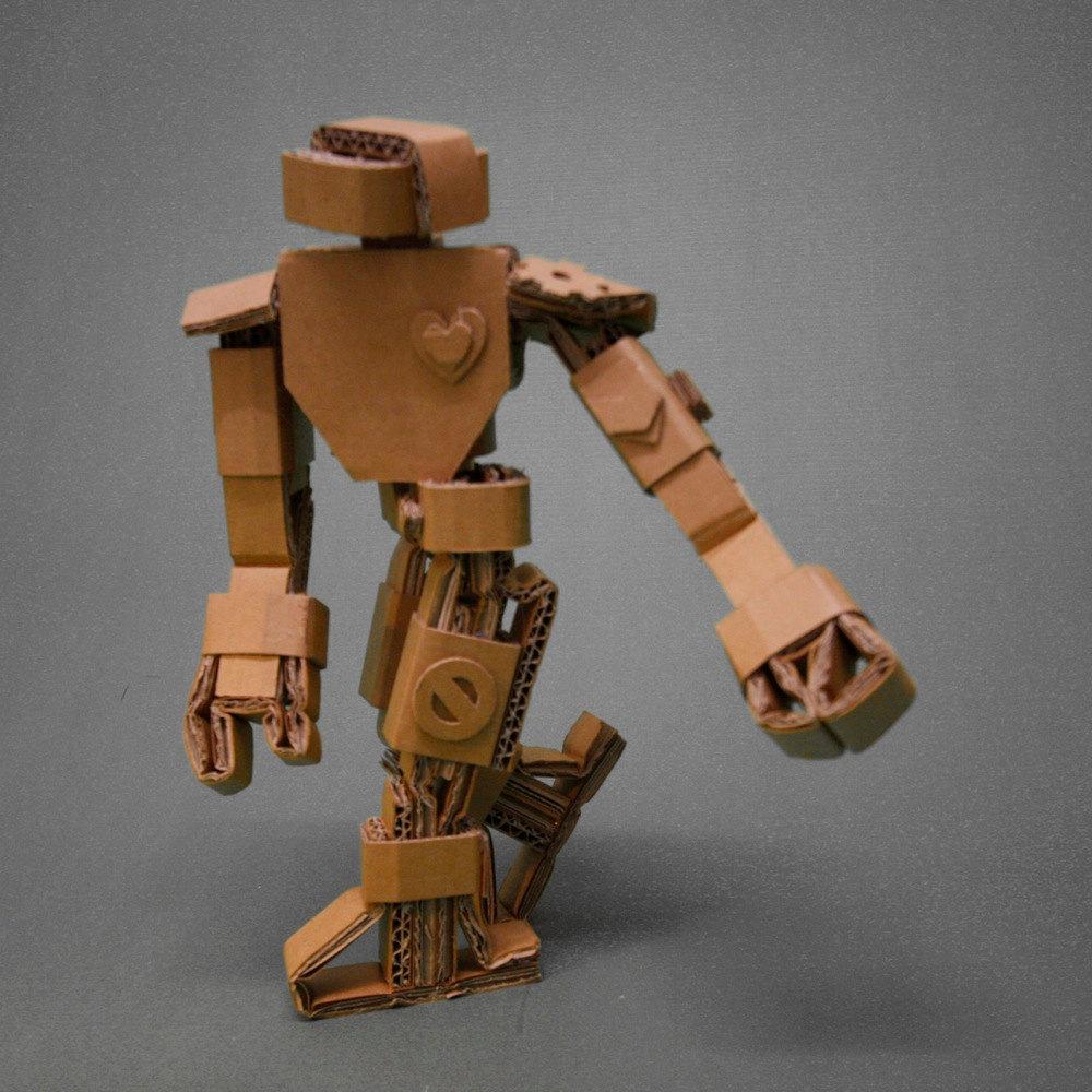 Pictures of Cardboard Robots Cardboard Robots 4