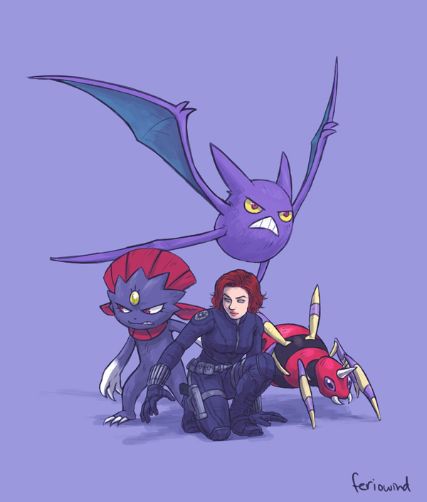 Avengers-Pokemon-–-Black-Widow
