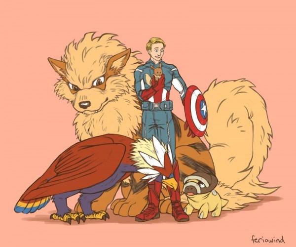 Avengers-Pokemon-–-Captain-America