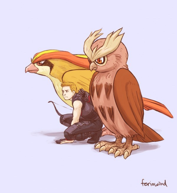 Avengers-Pokemon-–-Hawkeye