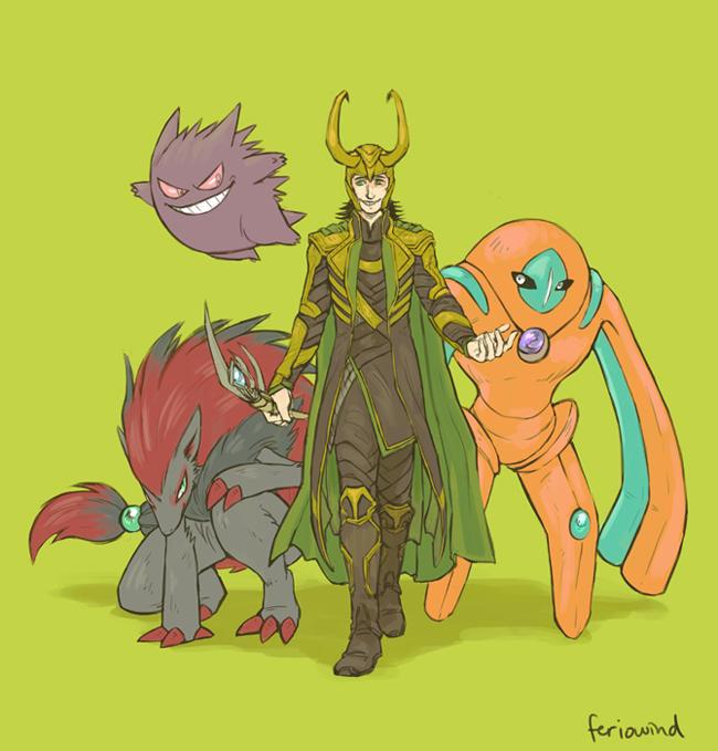 Avengers-Pokemon-–-Loki