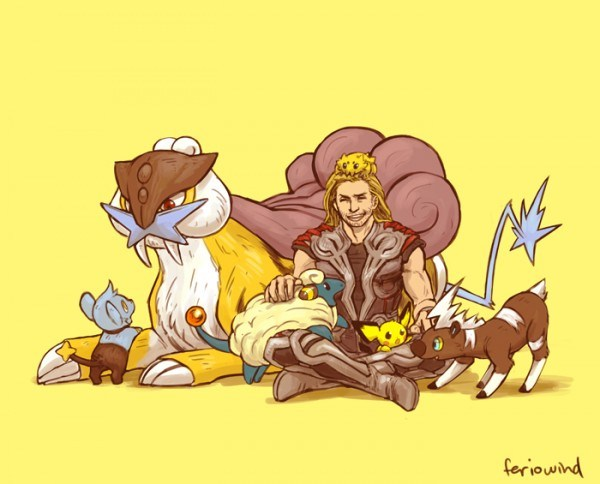 Avengers-Pokemon-–-Thor