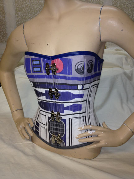 Squeeze into a R2-D2 corset