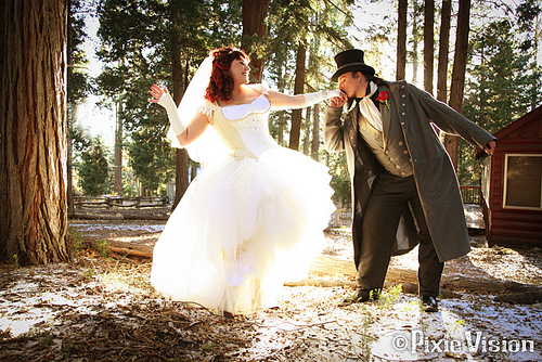 Steampunk Wedding 1