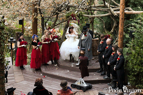 Steampunk Wedding 2