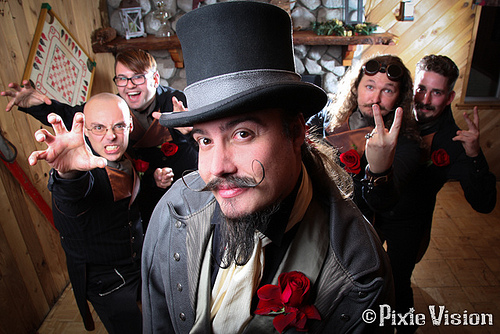 Steampunk Wedding 3