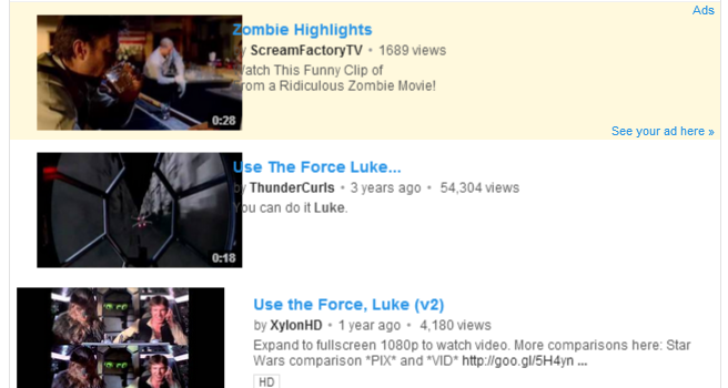 Discover Easter Eggs hidden in YouTube for Geek Week