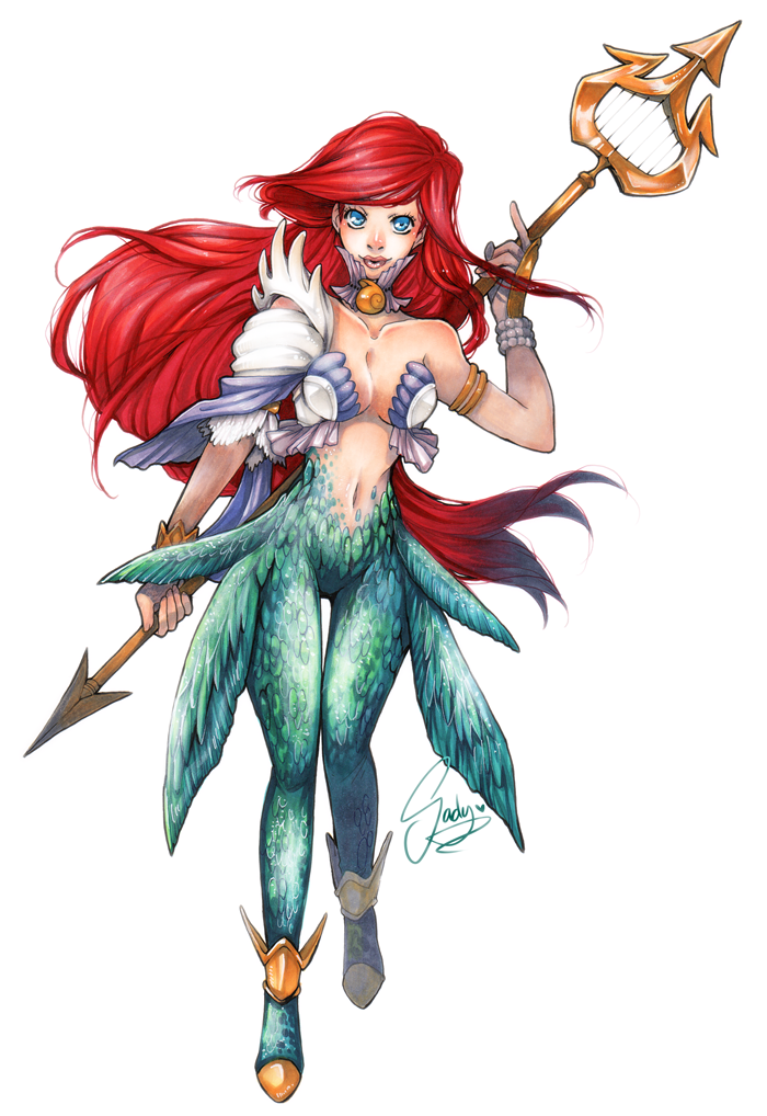 Little Mermaid Warrior Princess 1
