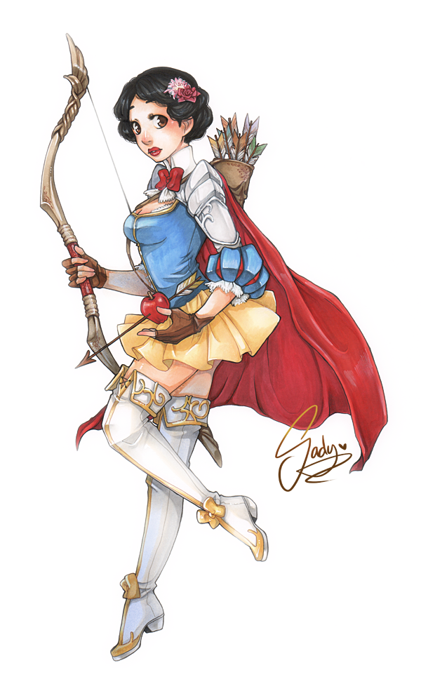 Snow White Warrior Princess