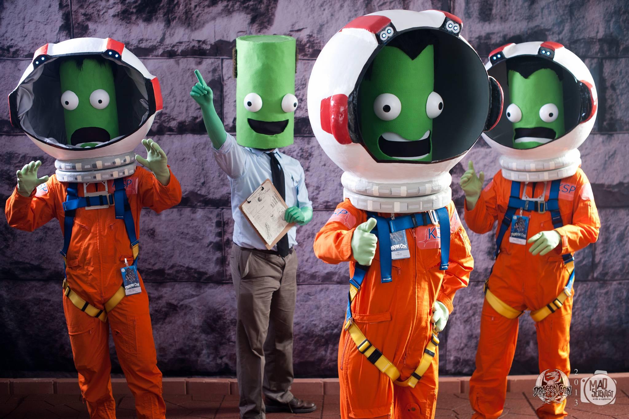 Going to DragonCon as Kerbals