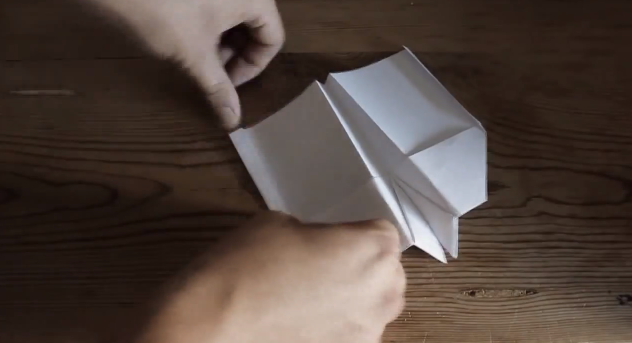 how to make a paper airplane fly in an infinite loop