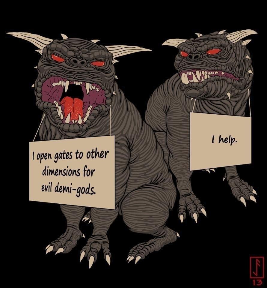 Ghostbuster dog shaming