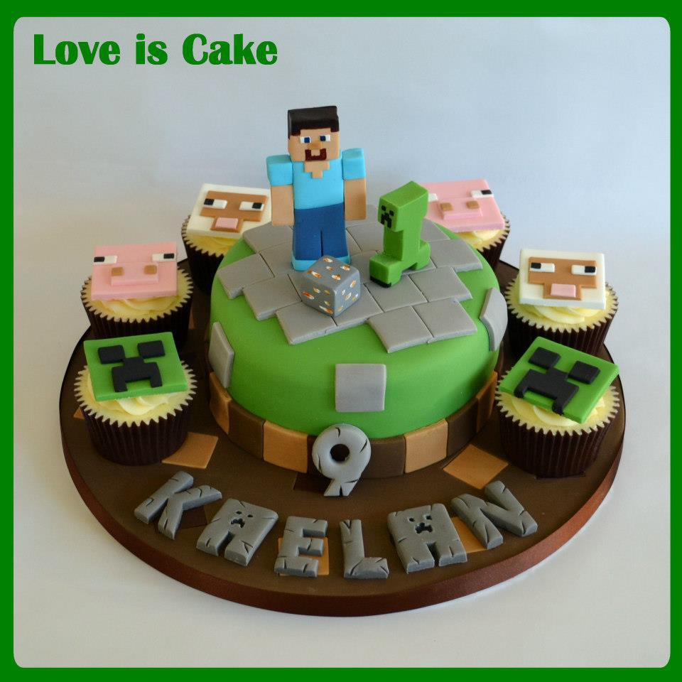 Images Of Mine Craft Cup Cake Cakes