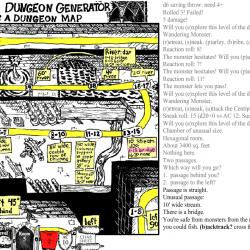 randon dungeon game