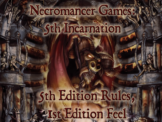 Necromancer Games Kickstarts D&D 5e range before agreeing license with WotC