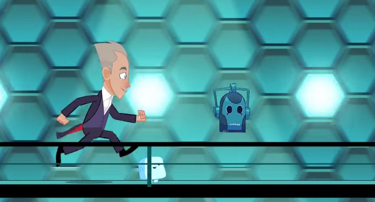 animated doctor who