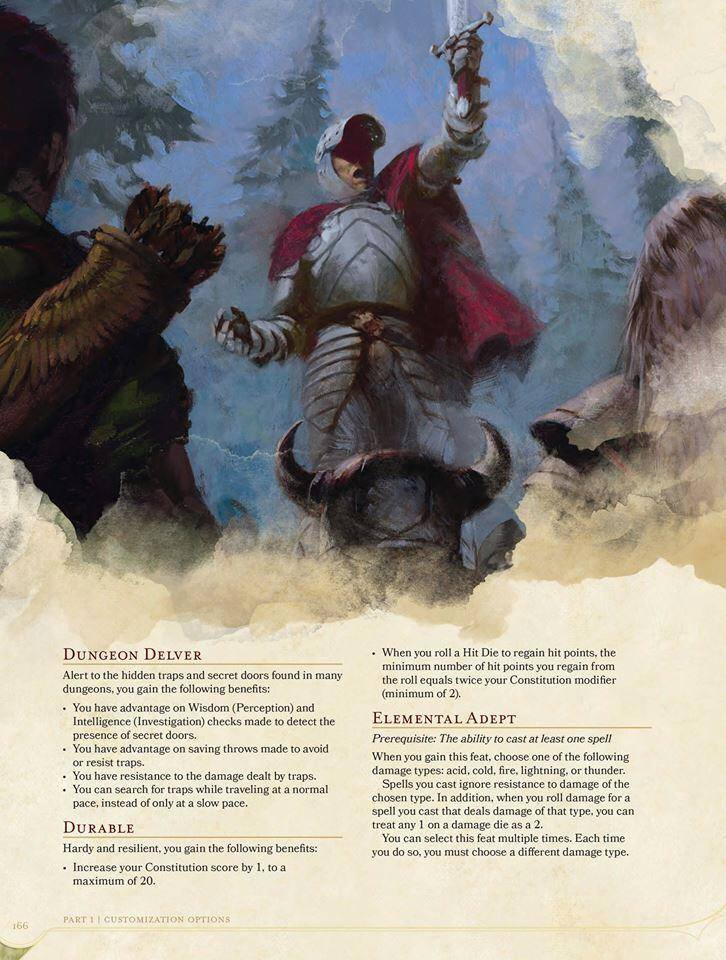 5e feats and other options pdf