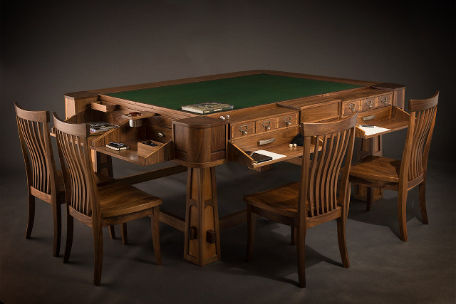 The Tables Can Be Bought For As Little As $2,500 But Range Up To $16,000  For The Top Range. The Impressive Designs Make Use Of Two Different  Surfaces U2013 A ...