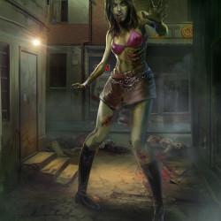 ultrapro_zombie_girl_sleeve_artwork_by_wacomzombie-d63kiae