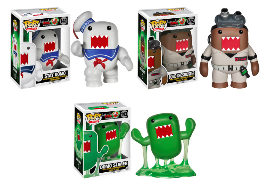 Pop! Domo does Ghostbusters