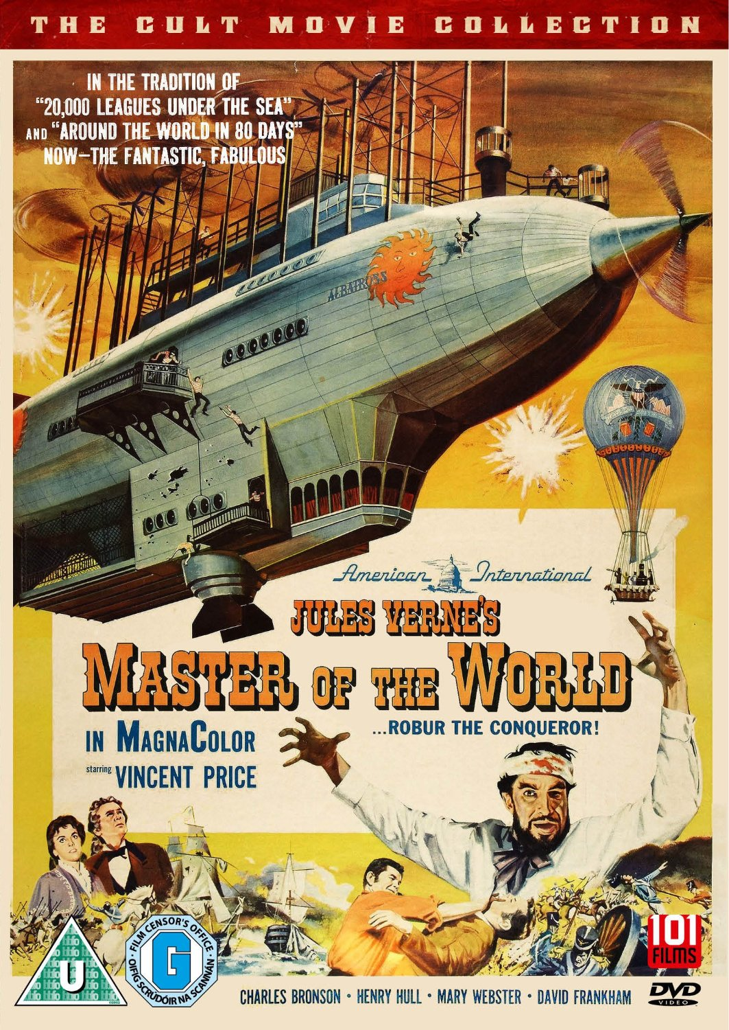 Jules verne mashup a review of master of the world