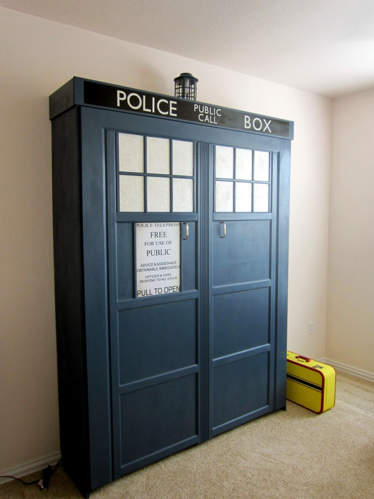 A Tardis Transformation Of A Spare Room