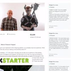 Pre-order Treasure Trapped via Kickstarter