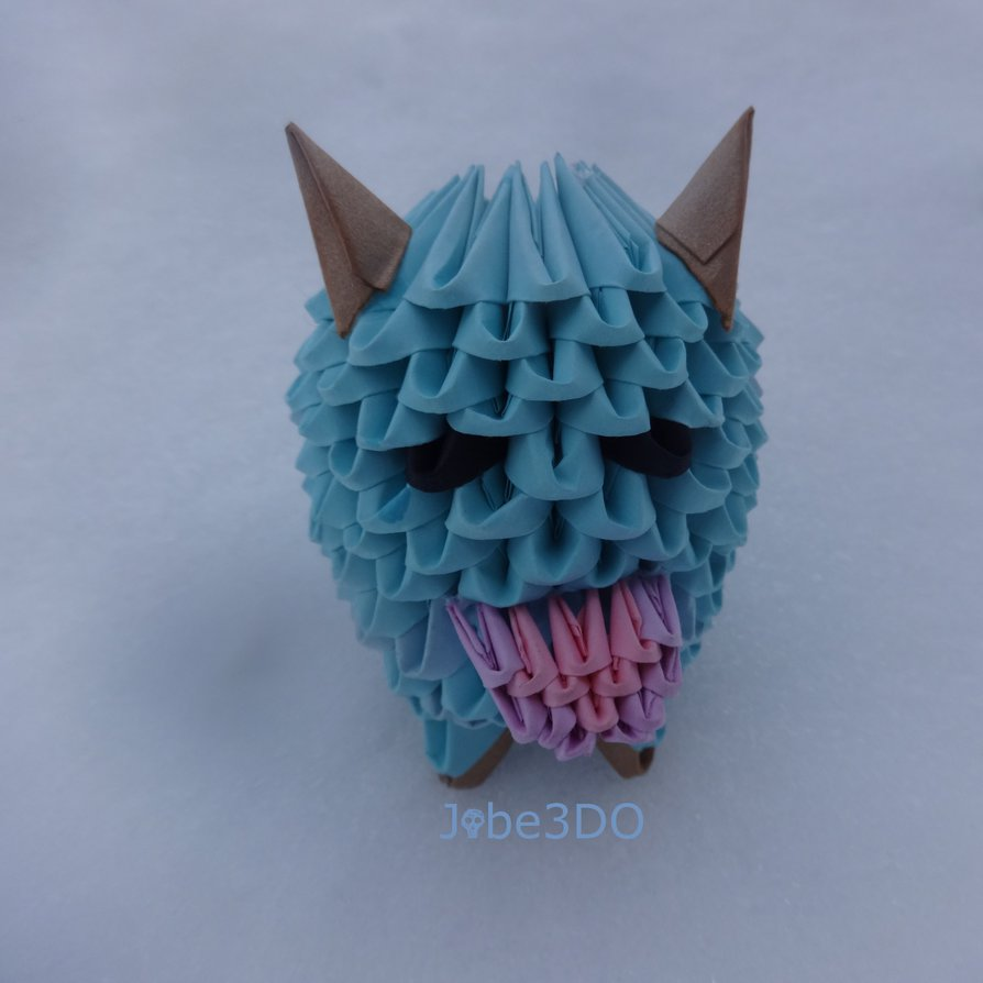 Geek culture 3D origami art - photo#23